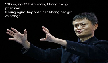 Câu nói hay của Jack Ma 1