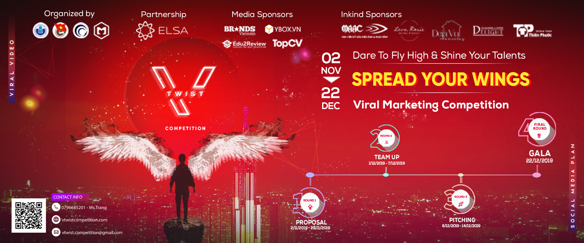 V TWIST COMPETITION 2019 | SPREAD YOUR WINGS